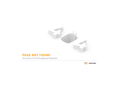 Workdomo web (404 page)