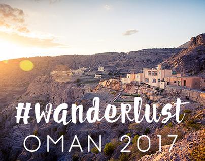 #wanderlust OMAN 2017