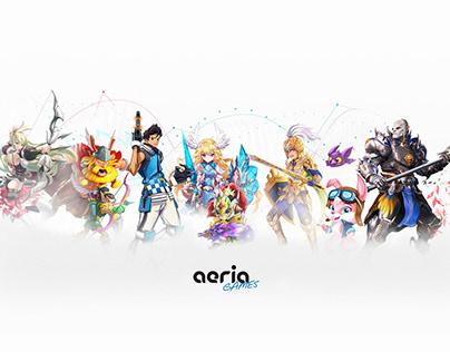 Communication, marketing, product design - Aeria Games