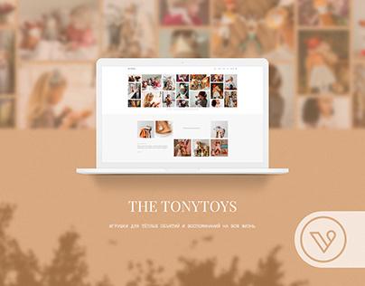 The TonyToys — design site for toys brand