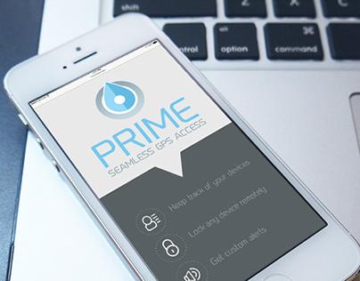 """Prime """"GPS"""" App"""