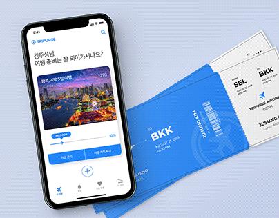 TRIPURSE | Travel Savings & Management App