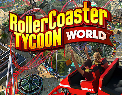 Roller Coaster Tycoon World Ad Banners