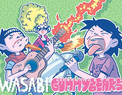 Wasabi Gummybears promo