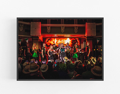 Raglan Road Pub - Commercial Photography - Event Based