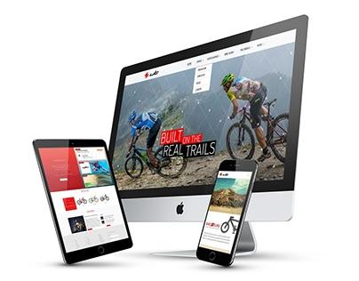 Web UI/UX Design- UT Bikes