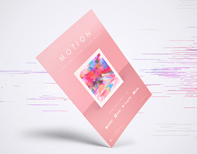Motion: Single Cover | Social Media | Magazine Page