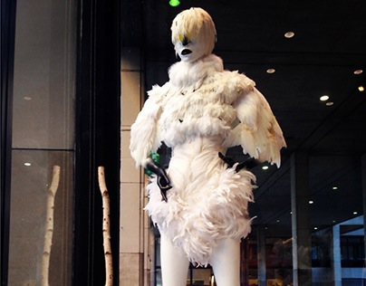 Bird Exhibition at Fashion Institute of Technology