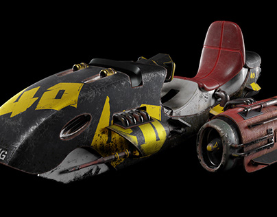 The Orca speeder