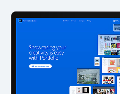 Adobe Portfolio Website