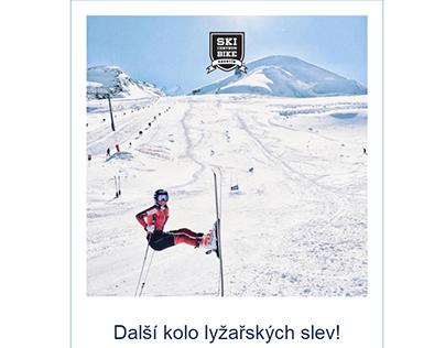 Ski Bike Email Template Design