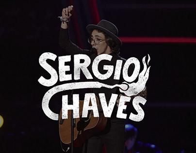 Sergio Chaves - La Voz ( Logotipo )