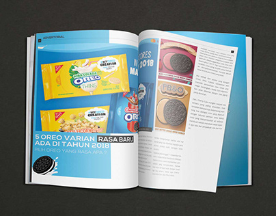 Oreo: Advertorial Megazine