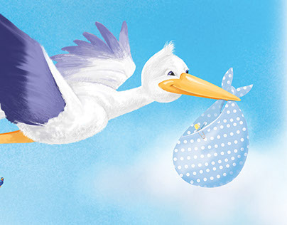 Sonny the Stork Special Delivery