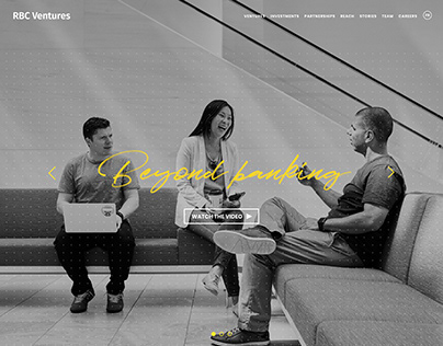 RBC Ventures - Website Design