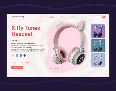 Product card Kitty tunes Headset