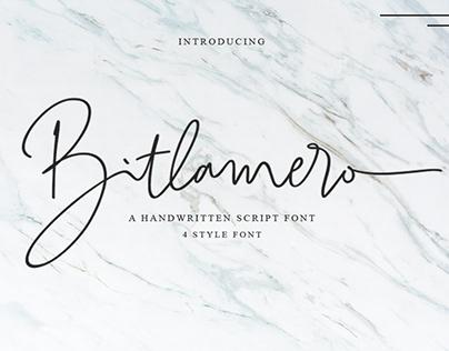 Free Font: Bitlamero