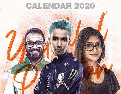 Youthful Pakistan Calendar Design