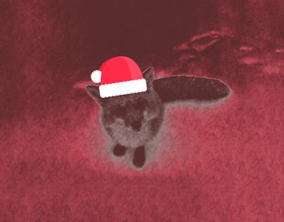 Christmasthemedfox