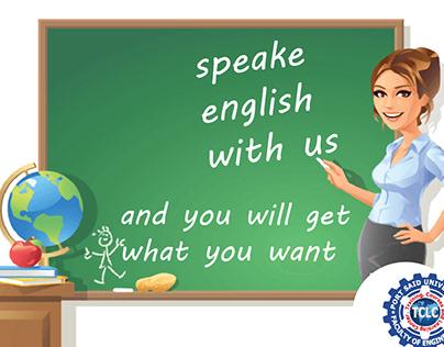 English course social media