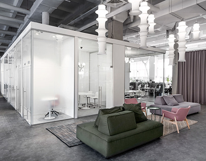 The design of the transparency Office in Kyiv