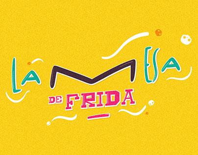 La mesa de Frida | Branding