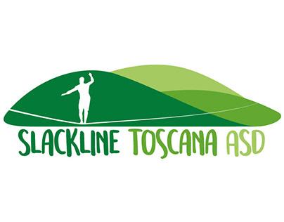 Logo design for Slackline Toscana ASD