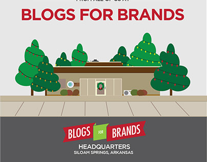 Blogs For Brands | 2014 Christmas Card