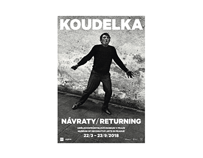 Josef Koudelka: Returning – exhibition, book and poster