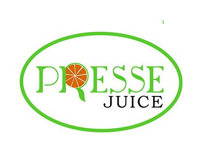 Presse Juice Logo Design