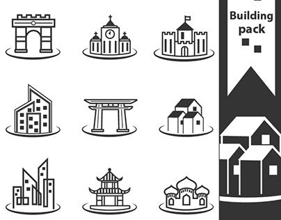 Building free icon pack