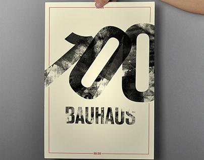 BAUHAUS 100 International Poster Campaign