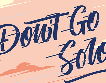 Don't Go Solo Mural