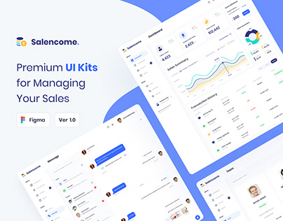 Salencome - Dashboard Sales Manager