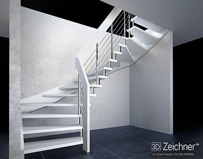 3D Treppenkonfigurator