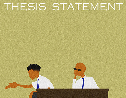 The Thesis Statement. Song Cover Sleeve