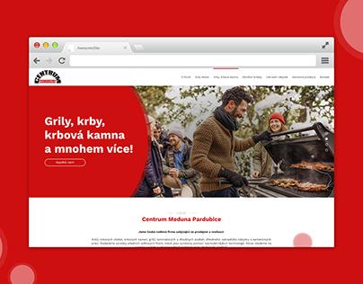 Webdesign - Centrum meduna