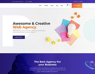 Creative Agency - WordPress