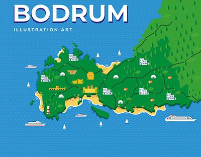 Bodrum Illustration