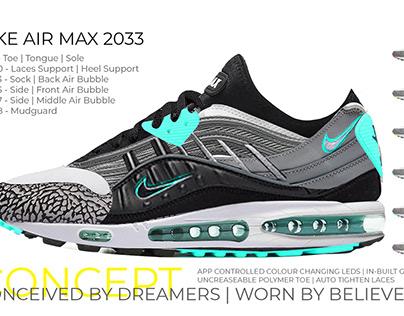 Nike Air Max 2033 design