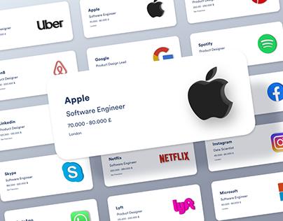 Top Tech Recruitment Web UI