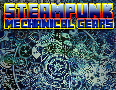 Steampunk Mechanical Gears Android theme