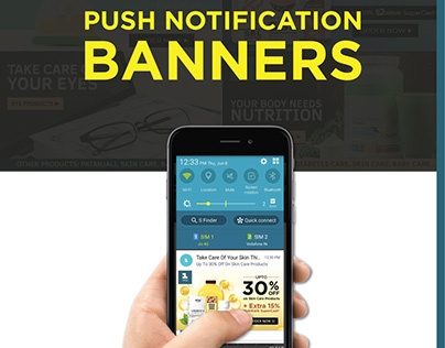Mobile Engagement Banners (Push Notification)