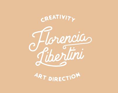 Logo personal - Florencia Libertini