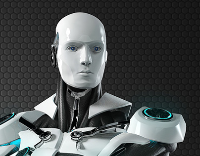 ESET robot / 3d model
