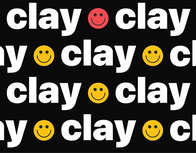 Clay — website redesign