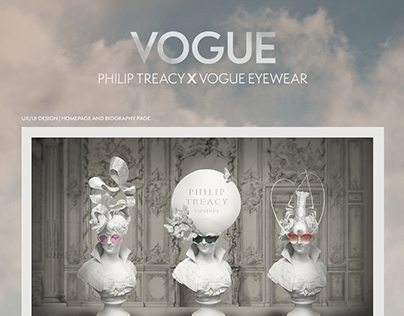 Philip Treacy x Vogue Eyewear
