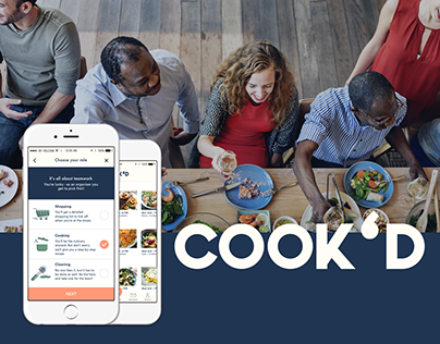COOK'D - a Lunch Cooking App for Colleagues