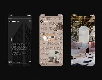 Materia | Brand Identity