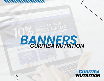 Site Ecommerce Banners Curitiba Nutrition